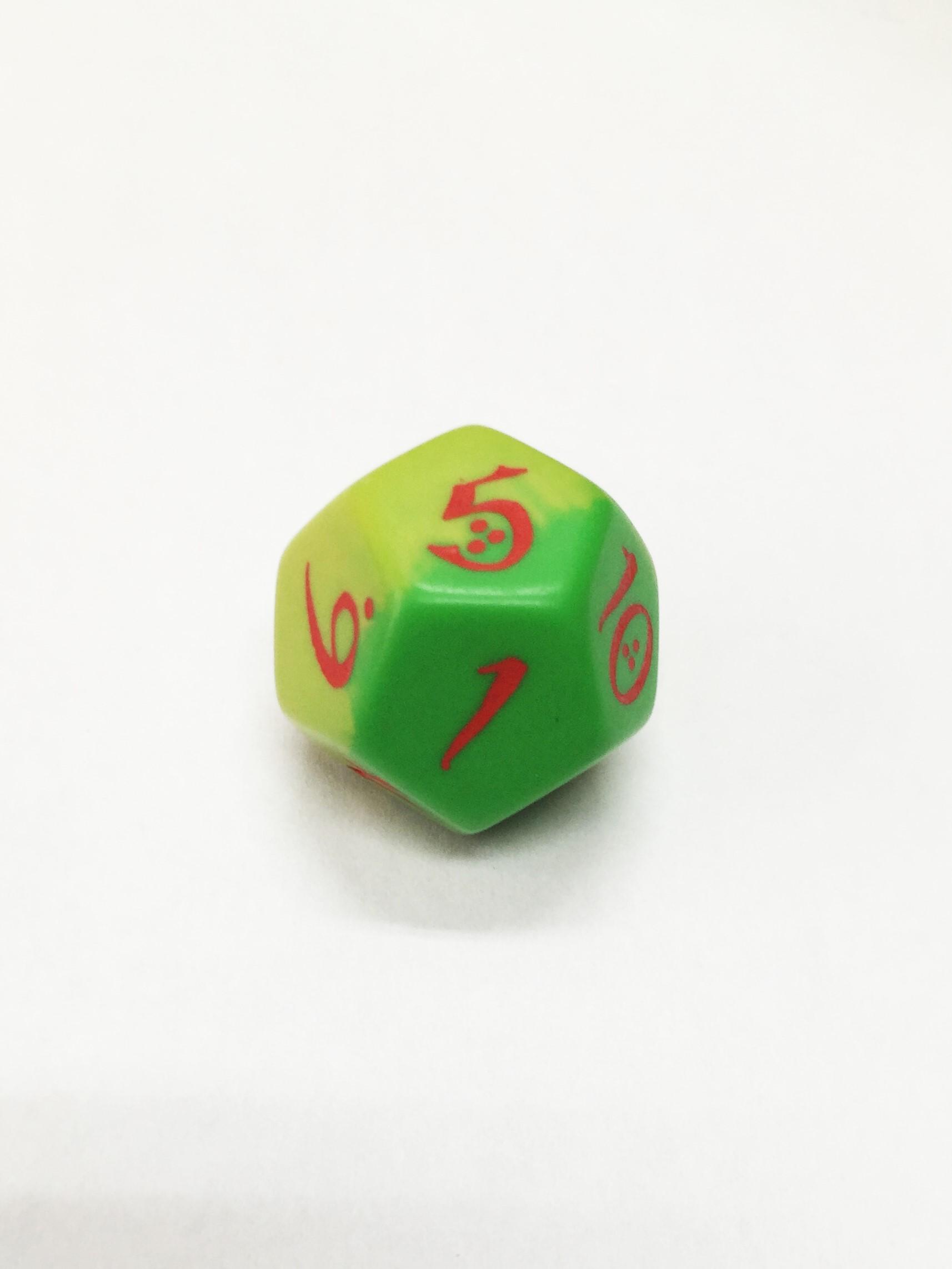 QW dodecaedro para jugar a rol