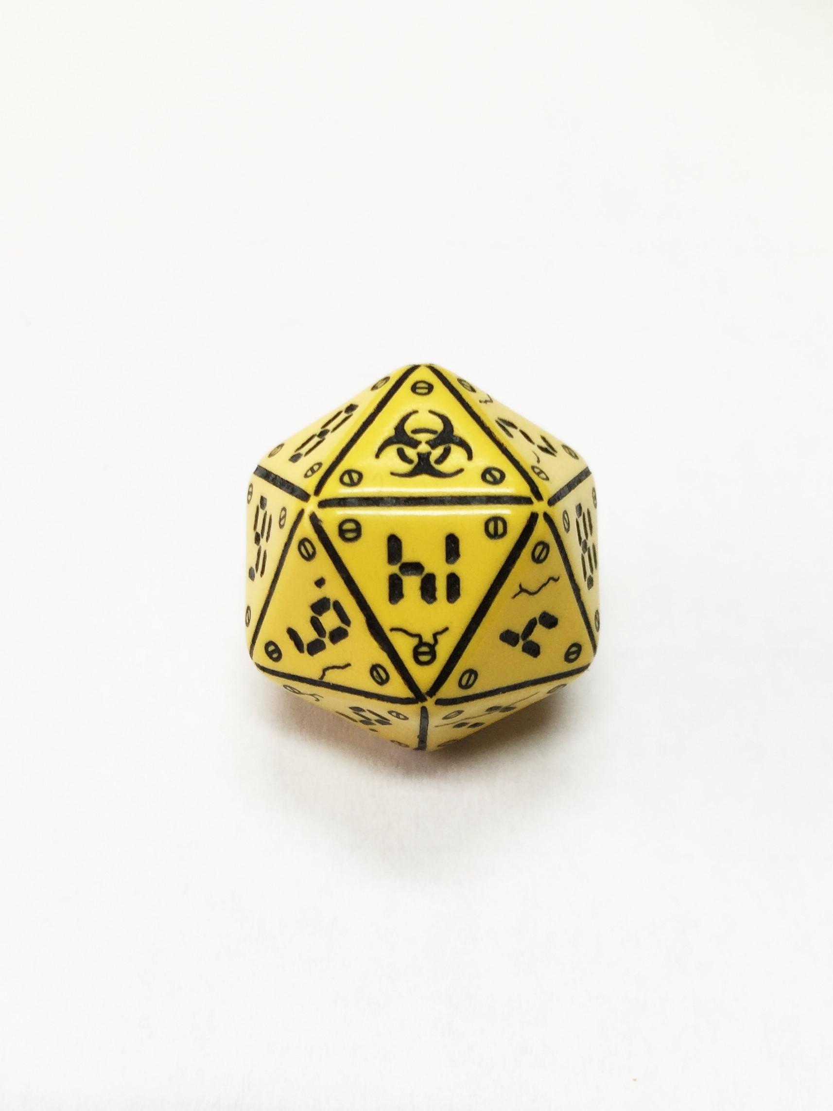 Icosaedro 1D20