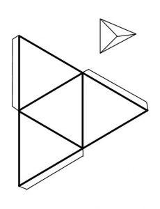 Plantilla 1D4 papel dado